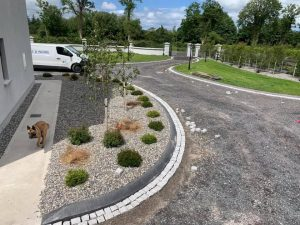 Concrete driveway paving Galway