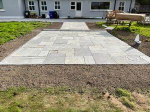 Back garden Patio in Galway